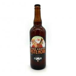 Bière Ambrée Piste Noire 75 cl