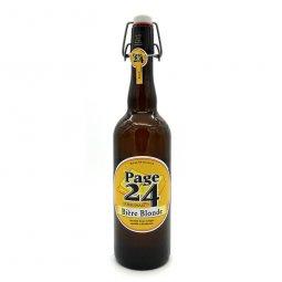 Bière Blonde Page 24 75cl