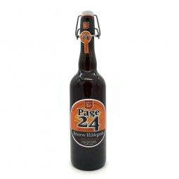 Bière Ambrée Page 24 Réserve Hildegarde 75 cl