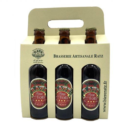 Bière Ambrée Noel RatzPack 6 x 33 cl