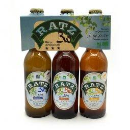 Bière Coffret Ratz BioPack découverte 3 x 33 cl