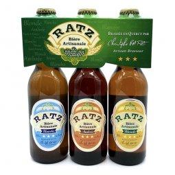 Bière Coffret RatzPack découverte 3 x 33 cl