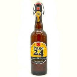 Bière Blonde Page 24 Réserve Hildegarde 75cl