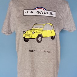 Tee Shirt Homme La Gaule 2cv