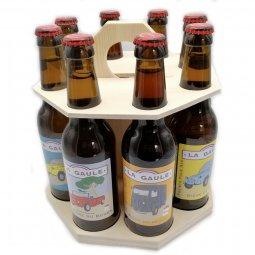 La Gaule l'intégrale en carroussel de 8 bouteilles
