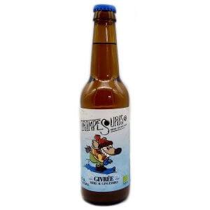 Bière Ambrée Trompe Souris Givrée