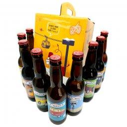 La Gaule coffret 9 bières, l'intégrale